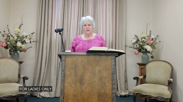 Donna Faughn: Be Still My Heart and Church is a Family, Not an Event Part 1