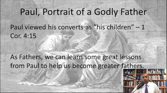 Kelvin Pugh: Godly Father