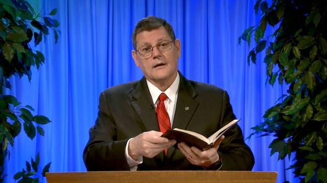 Phil Sanders: Jesus and His Word