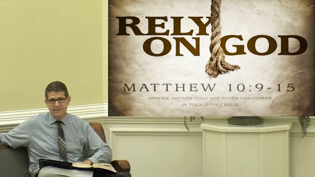 Westley Hazel: Manna in the Morning 2020 (1): The Challenge to Rely on God