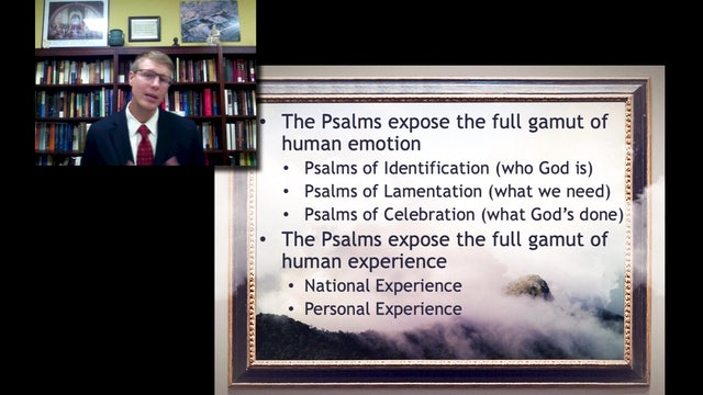 Justin Rogers: How to Read the Psalms Spiritually