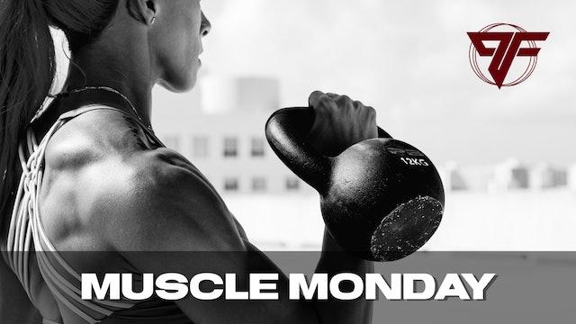Muscle Week   Monday [BACK] - 4.26.21