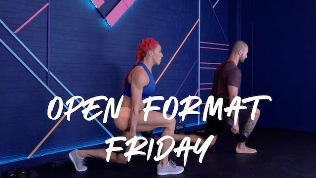 Open Format Friday | Volume ONE
