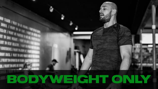 Time Crunch   Bodyweight Workout