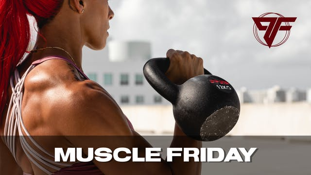 Muscle Week | Friday [CHEST] | - 4.29.21