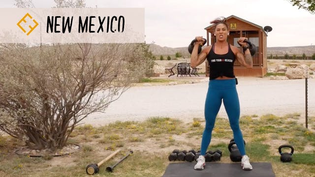 Full Body Workout in New Mexico!