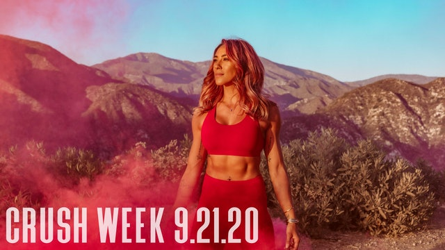PFC Online - CRUSH Week | Monday - 9.21.20