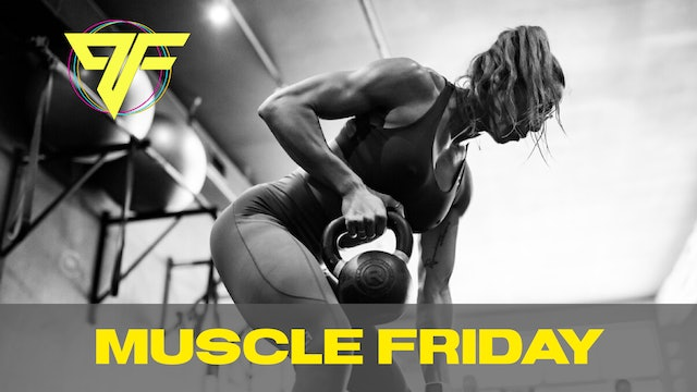 PFC Online | Muscle Friday [CHEST + ARMS] | 1.15.21