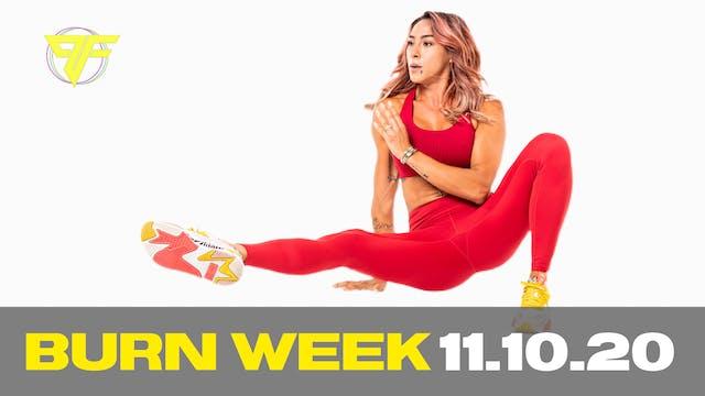 Burn Week | Tabata Tuesday - 11.10.20