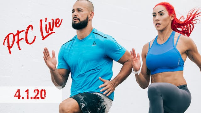 PFC Live | Muscle Wednesday - 4.1.20