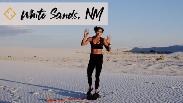 White Sands Workout