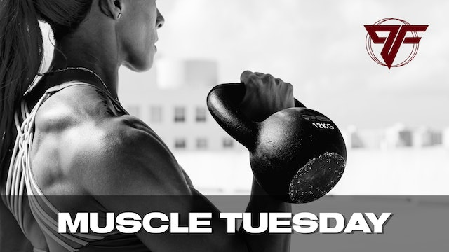 Muscle Week | Tuesday [SHOULDERS] - 4.27.21