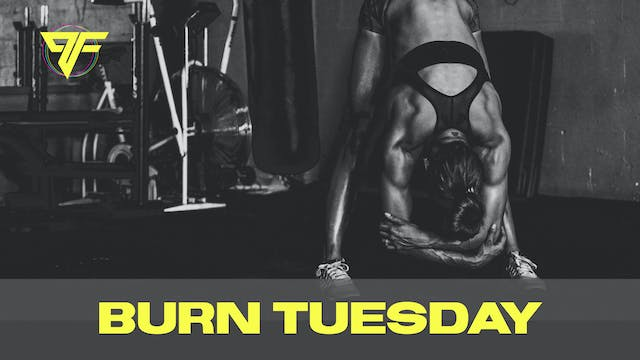 Burn Week | Tabata Tuesday - 12.8.20