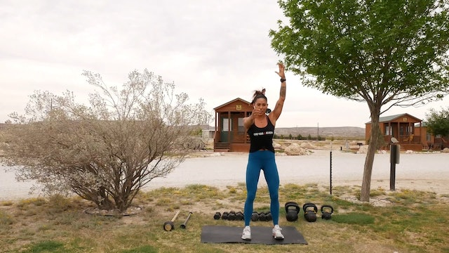 Full Body Warm-Up with Hannah in New Mexico