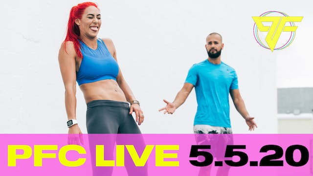PFC Live | Tabata Tuesday - 5.5.20