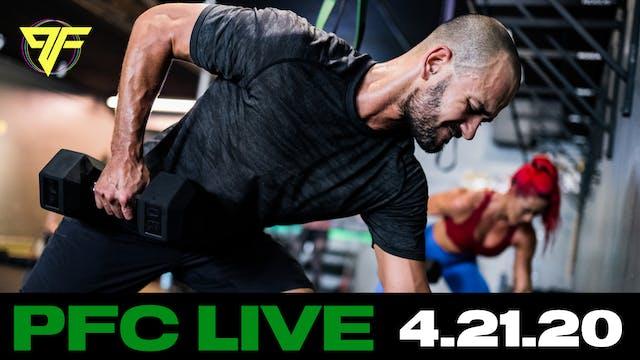 PFC Live | Crush Tuesday - 4.21.20