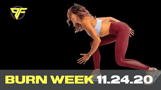Burn Week | Tabata Tuesday - 11.24.20