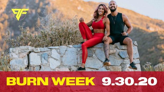 Burn Week   Wacky Wednesday - 9.30.20