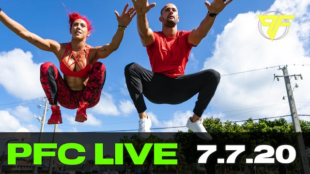 PFC Live - Tabata Tuesday - 7.7.20