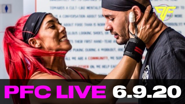 PFC Live | Tabata Tuesday - 6.9.20