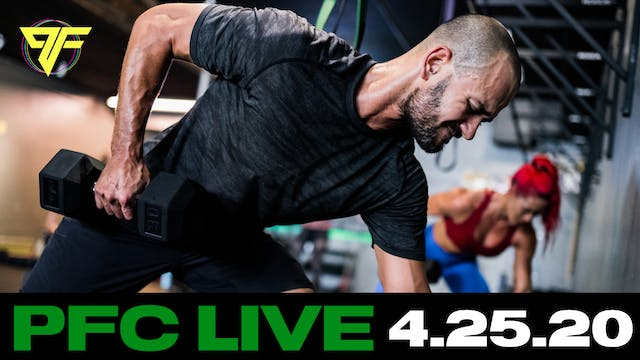 PFC Live | Crush Saturday - 4.25.20
