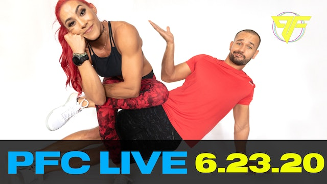 PFC Live | Tabata Tuesday - 6.23.20