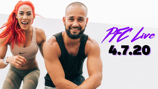 PFC Live | Tabata Tuesday - 4.7.20