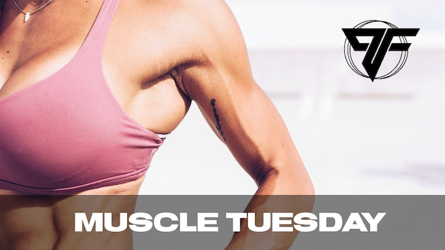PFC Online | Muscle Tuesday [SHOULDERS] | 2.16.21