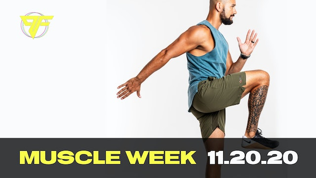 PFC Online - Muscle Friday [SHOULDERS] - 11.20.20