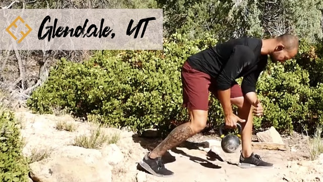 Single Kettlebell Workout in Glendale UT with Paulo