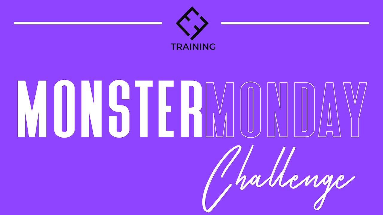 Monster Monday Challenge