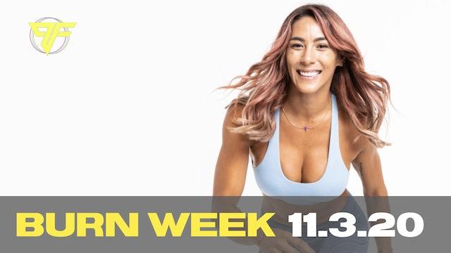 Burn Week | Tabata Tuesday - 11.3.20