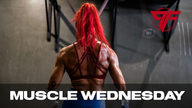 PFC Online | Muscle Wednesday [BACK] - 5.26.21