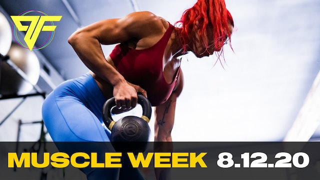 PFC Online - Muscle Wednesday [BACK] - 8.12.20