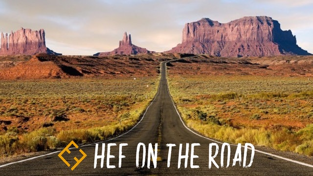 HEF ON THE ROAD