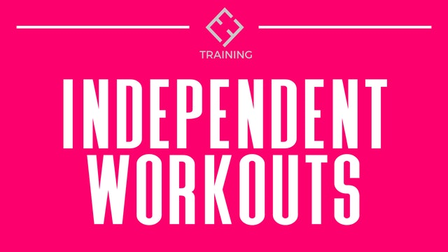 INDEPENDENT WORKOUTS