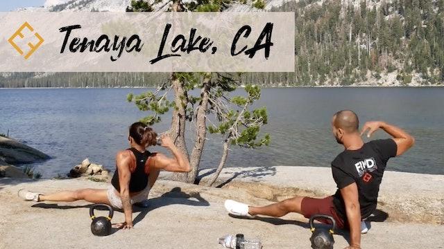 KB Conditioning at Tenaya Lake, Yosemite