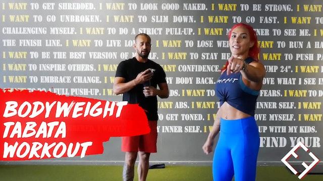 Bodyweight TABATA w/ Hannah & Paulo