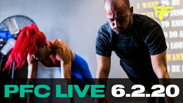 PFC Live | Tabata Tuesday - 6.2.20