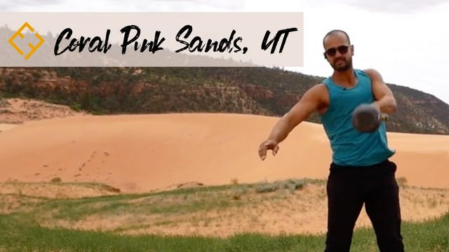 Coral Pink Sands with Paulo