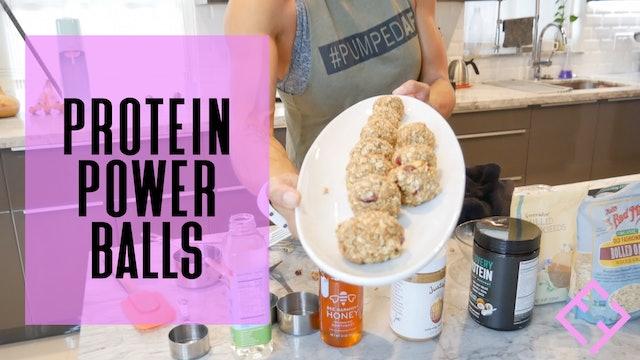 Power Protein Balls