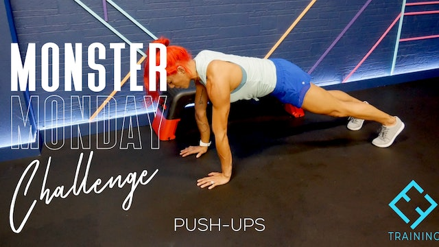#4 Monster Monday Challenge | Push-Ups