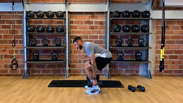 Lower Body and Core Strength with Cowan Austrie - September 4, 2020