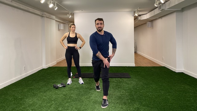 Lower Body & Core Strength with Vaggelis Troulis - 02/09