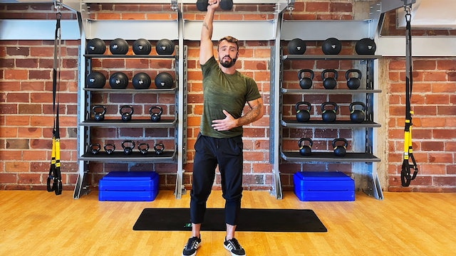 Full Body Strength with Vaggelis Troulis - August 17, 2020