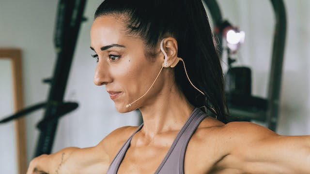 SCULPT NATION Floor Barre and Cardio with Jen