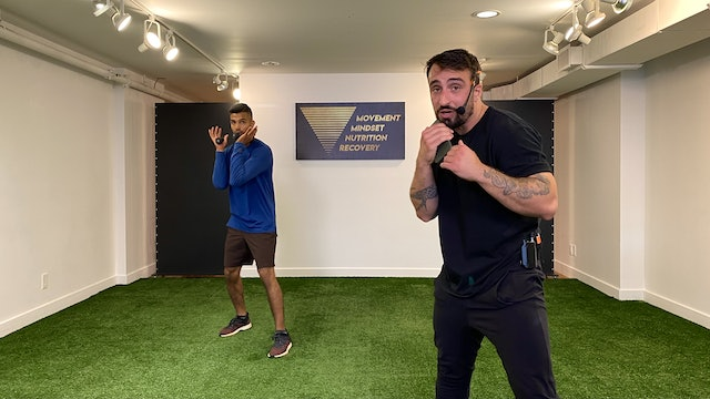 Boxing Workout with Vaggelis Troulis - 08/10
