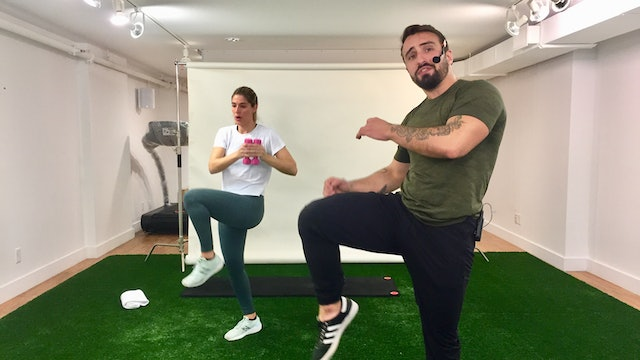Boxing Workout with Vaggelis Troulis - 11/10