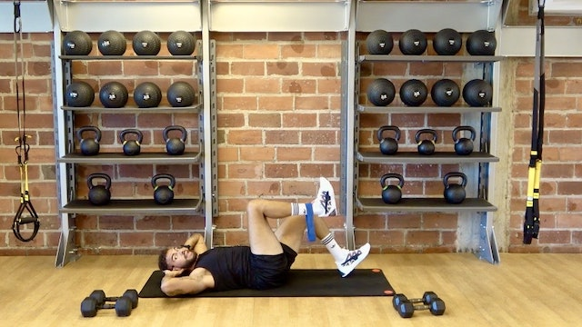 Lower Body and Core Strength with Cowan Austrie -September 18, 2020