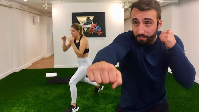 Boxing Workout with Vaggelis Troulis - 11/24